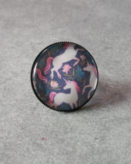 Bague licornes, bague unicorn, bal de licornes, bague kawaii, bijou kawaii, bijou licorne, unicorn jewelry, féérique, magie