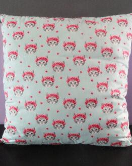 Coussin décoratif chat, coussin chat, coussin fantaisie, coussin original, décoration intérieur, déco intéreiur, home déco, chat, miaou, meow
