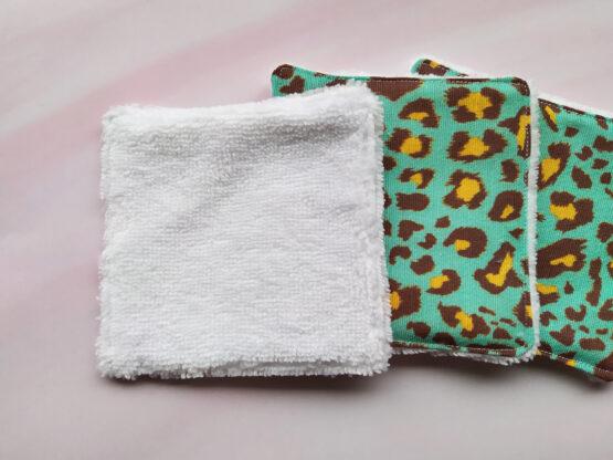 Débarbouillettes lavables ultra douce pour peau de bébé