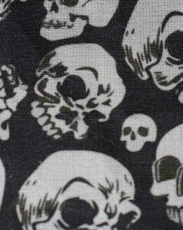 pochette skull, pochette tete de mort, pochette rock, pochette punk, accessoire punk, accessoire rock, pochette rock'n'roll, captain petit pois, trousse tete de mort, trousse halloween, pochette halloween, trousse rock'n'roll, trousse punk