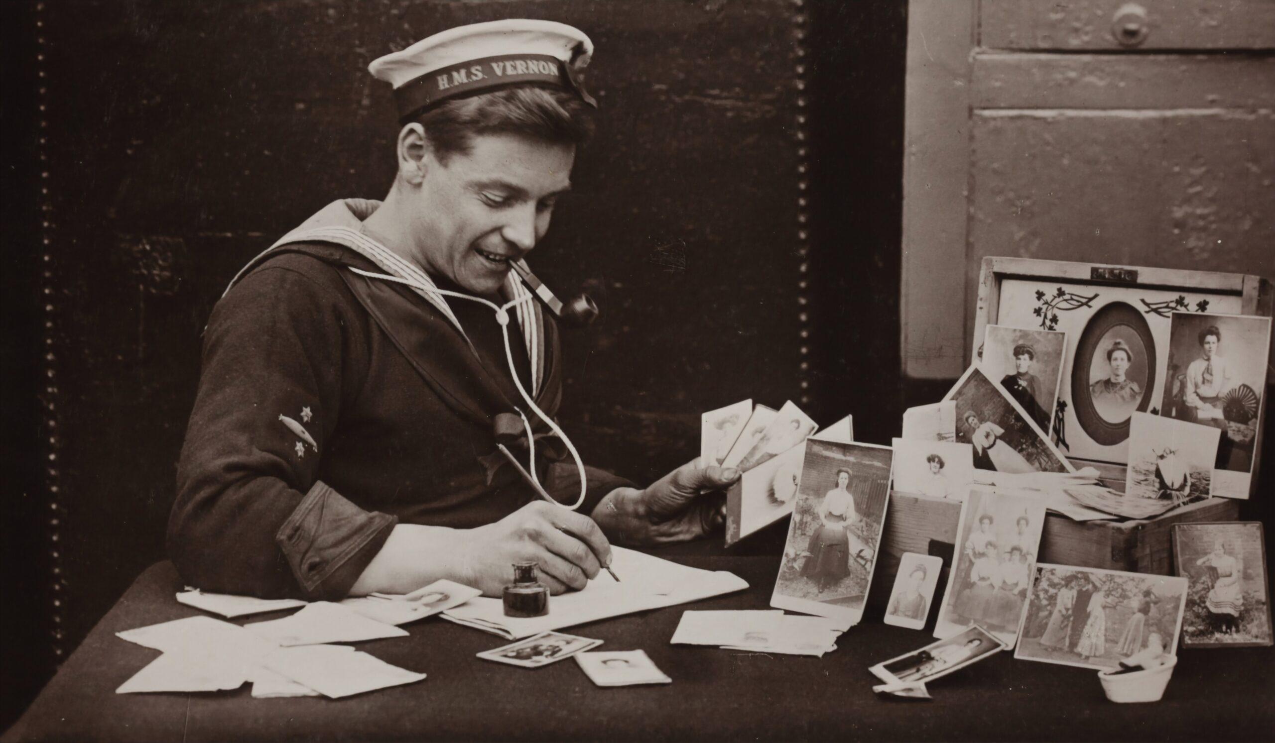 avis clients captain petit pois représenté avec un marin rétro